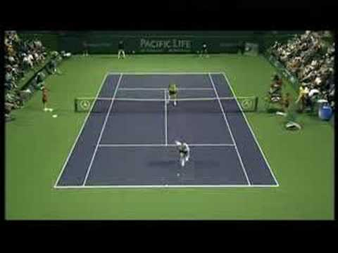 Michael Llodra vs Tommy Haas Video