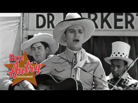 Gene Autry - That Silver Haired Daddy Of Mine (from Tumbling Tumbleweeds 1935) video