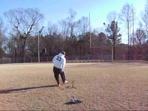 David Strickland Kicking