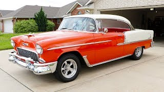 I bought my DREAM CAR at 21... 1955 Chevy Bel Air