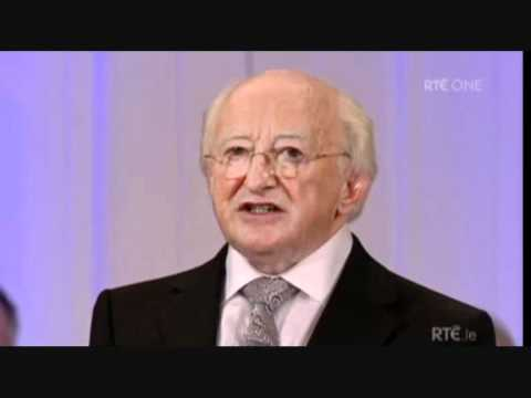 Michael D. Higgins Inauguration Speech