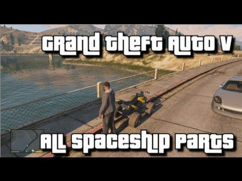 GTA V - All Spaceship Parts - 100% Collectibles Guide - From Beyond the Stars Achievement/Trophy