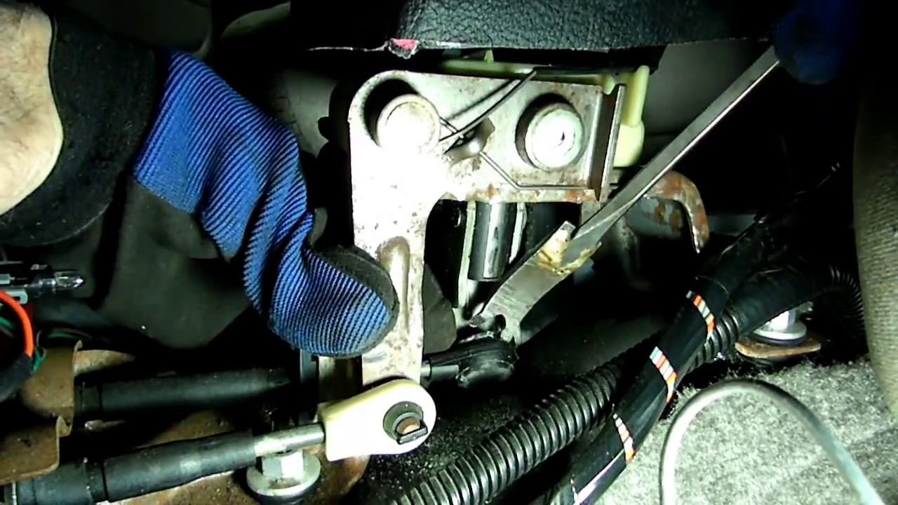 Saturn Stick Shift Shifter Cable Bushing Replacement Youtube