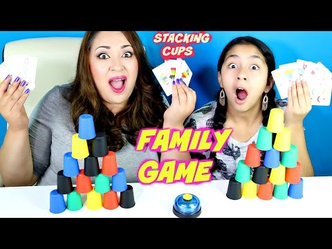Quick Cups Family Fun GAME! Stacking cups!B2cutecupcakes