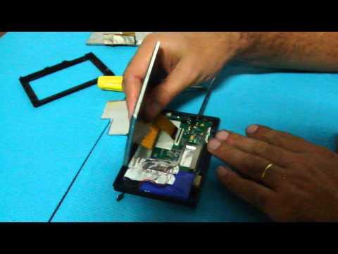 Como trocar a tela de um gps para reposição