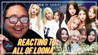 Producer Reacts to ENTIRE LOONA MUSIC VIDEOS (FULL CUT)