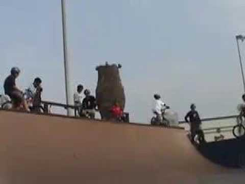 BMX riding Macniel tour 2002 Jay Miron, and others Video