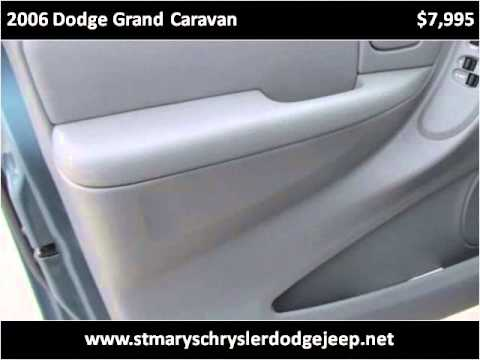 2006 Dodge Grand Caravan Used Cars Saint Marys OH