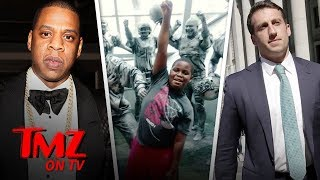 Jay-Z's Roc Nation Hires Lawyer For Sixth Grader After Pledge of Allegiance Arrest | TMZ TV