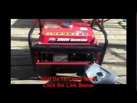 Quiet Portable Generator Reviews : All Power America APG3014
