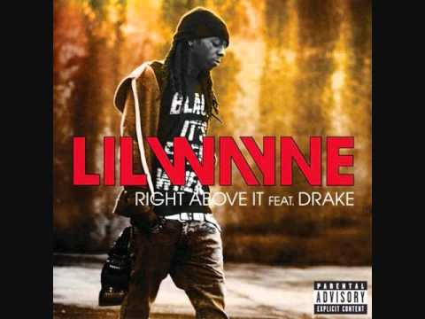 Lil Wayne Ft Drake - Right Above It Instrumental With Hook video
