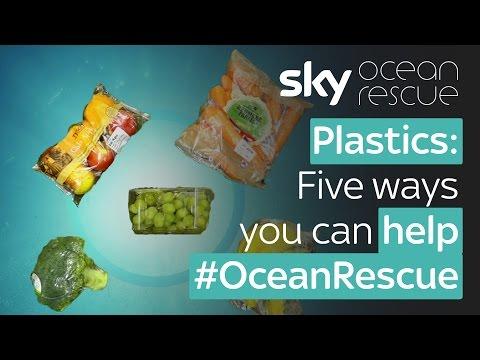 Plastics: Five ways you can help #OceanRescue