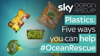 Plastics: Five ways you can help #OceanRescue