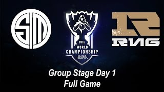 TSM vs RNG | Group Stage Day 1 | World Championship 2016 League of Legends