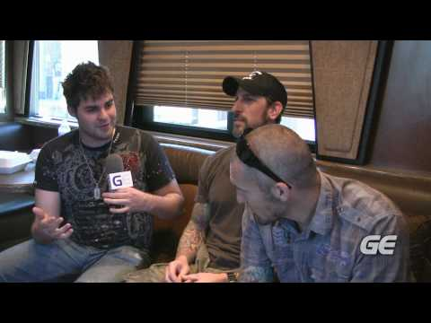 Backstage With Sevendust