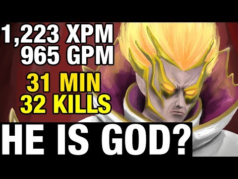 HE IS GOD? - 1223 XPM - SumIYa Plays Invoker - Dota 2