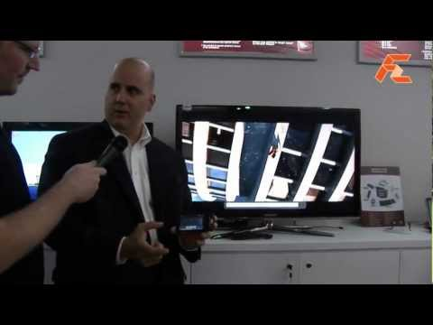 Broadcom NFC video sharing touch and play solution -Computex 2012
