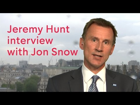 Jeremy Hunt talks to Jon Snow about junior doctors deal