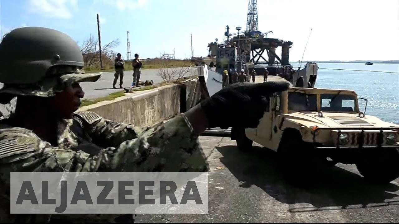 US sends more aid to Puerto Rico after Hurricane Maria devastation