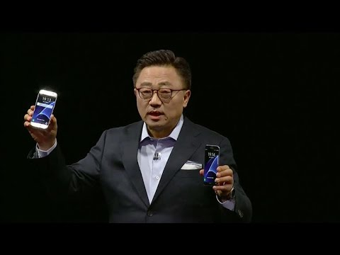 Samsung unveils latest smartphones, Samsung Galaxy S7 and S7 Edge (CNET News)