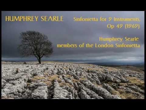 Humphrey Searle: Sinfonietta for 9 Instruments [Searle-London Sinf] radio premiere