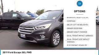 2019 Ford Escape ORANGE TUSTIN PLACENTIA FULLERTON ORANGE COUNTY 00S90800