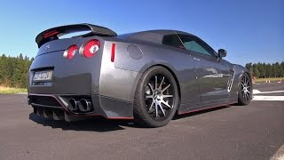 Nissan GT-R HKS GT800 (R35) - Amazing Exhaust Sounds!