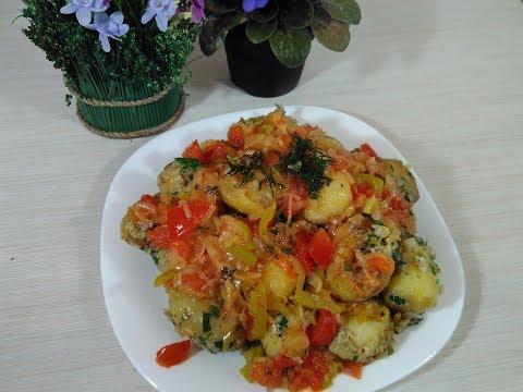 Молодая картошка! Один из вкуснейших рецептов
