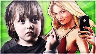 Most Annoying Kid in GTA 5 [GTA V]