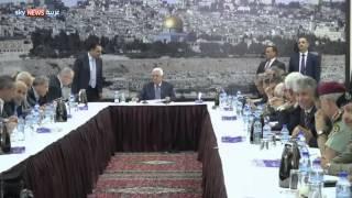 السلطة توقف التنسيق الأمني مع إسرائيل