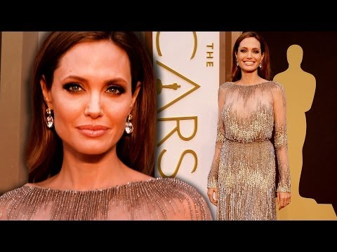 Angelina Jolie on the Red Carpet Oscars 2014