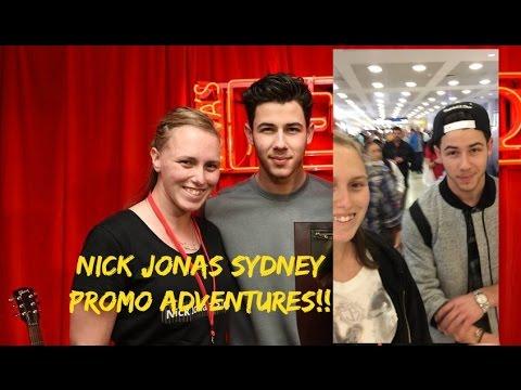 My Nick Jonas adventure in Sydney.