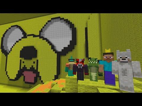 Minecraft Xbox Tag Jake S Room Adventure Time