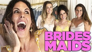 Trying On Bridesmaids Dresses!!! (also i pranked them)