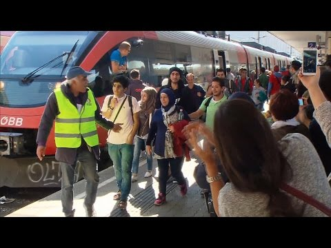 CTV News in Austria: Outpouring of hospitality for migrants