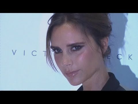 Victoria Beckham launches fashion line in Beijing