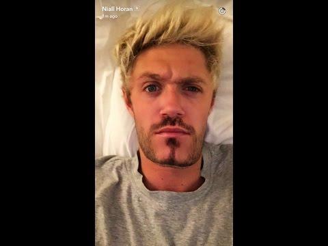 Niall Horan Snapchat Story
