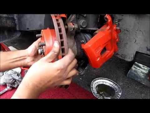 Front Brake Pads. Rotors & Caliper Replacement: Toyota / Lexus