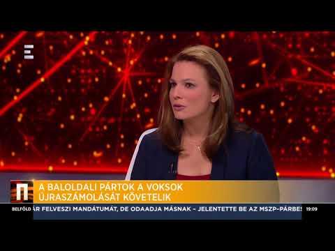 Követelik a baloldali pártok a voksok újraszámolását - Hidvéghi Balázs - ECHO TV
