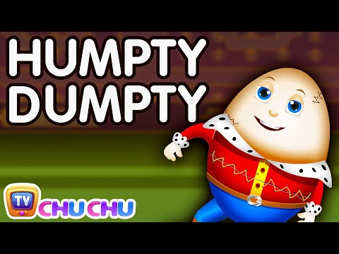 Humpty Dumpty Nursery Rhyme -  Learn From Your Mistakes!