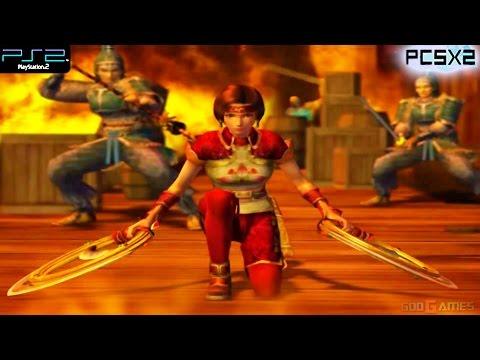 Dynasty Warriors 4 -  PS2 Gameplay SD + FXAA (PCSX2)