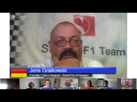 Formula 1 Race Hangout - Grand Prix of Hungary