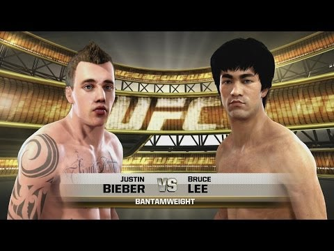 Justin Bieber Vs Bruce Lee Ufc Ea Sports Celebrity Death Match Mma video