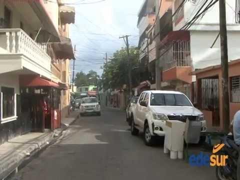 Edesur rehabilita redes en barrios Avenida Independencia