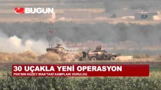 TSK'DAN 30 UÇAKLA YENİ PKK OPERASYONU