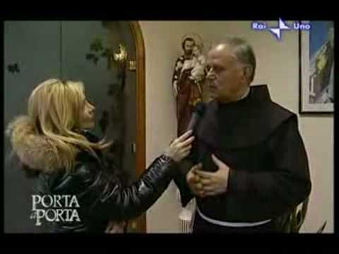 """Padre Jozo- testimonianza a """"Porta a Porta"""" su Rai 1"""