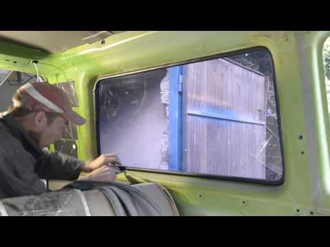 Как снять стекла с авто!? Легко!  Vw T3 Bus