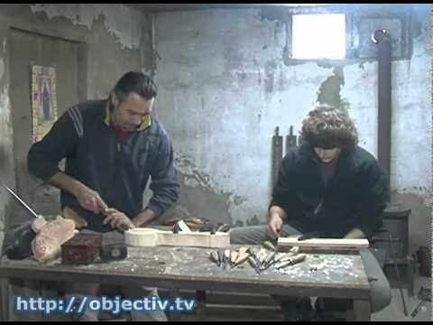 Житель Харьковщины создает шедевры из дерева