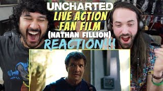 UNCHARTED - Live Action Fan Film (2018) Nathan Fillion - REACTION!!!