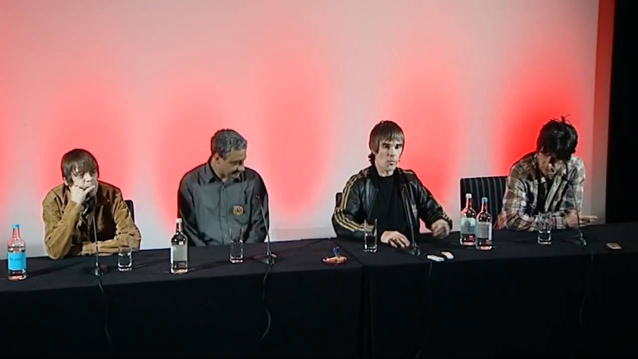 Stone Roses Reunion Press Conference Stone Roses Full Press